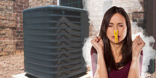Air Conditioner Smells >> Why Does My Air Conditioner Smell Weird When I Turn It On?